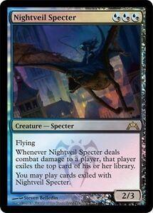 Gold Gatecrash Mtg Magic Rare 1x x1 1 FOIL Nightveil Specter