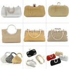 Ladies Women Evening Party Bag Clutch Bridal Wedding Purse Chains Wallet Handbag