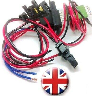 QDI Heater Blower Resistor Wiring Harness Loom repair kit plug