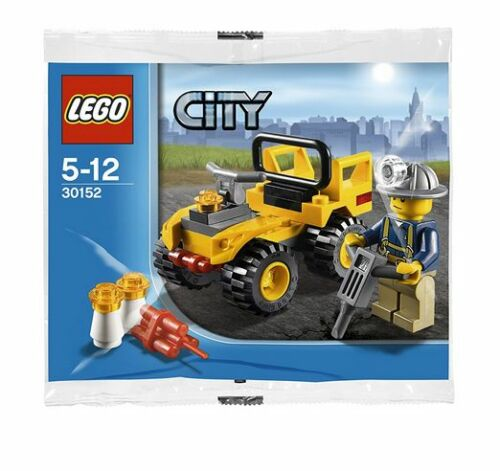 30152 Lego new MINING QUAD vehicle City