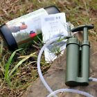 Portable Outdoor Water Filter Purify Pump Outdoor Survival Hiking Camping BE