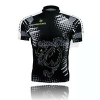 Dragon-tiger Cycling Bike Short Sleeve Top Shirt Clothing Bicycle Jersey S-3xl