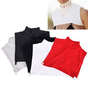 Detachable-Cotton-High-Shirt-Fake-False-Collar-Choker-Necklace-Chic-Coll-NTAT