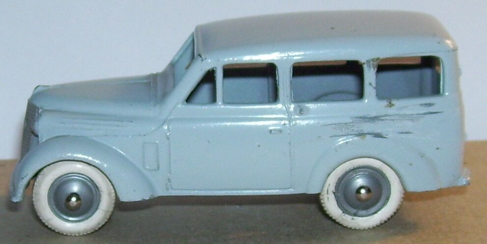 OLD CIJ RENAULT DAUPHINOISE BREAK 1956 grey CLAIR ROUES whiteHES