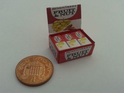 1//12 Scale-Caja De Frutas Y Tuerca Dulces Para Dollshouse Miniatures