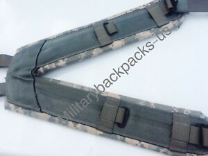 US-Army-New-Digital-ACU-Suspenders-H-Harness-Holster-Equipment-Shoulder-Straps