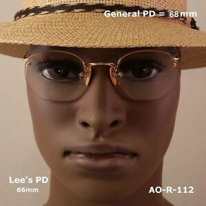 AO-Rimway-CROSSLEY-Ful-Vue-12k-Gold-Fill-True-Antique-Eyeglasses-amp-Case
