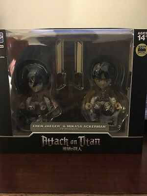 The Loyal Subjects Attack on Titan Eren and Annie SDCC 2017 Convention Special