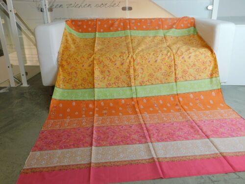 Bassetti sustancia Mochi Orange rosa 250x120 satén f mantel almohada ropa de cama