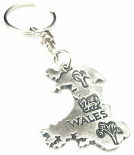 Gift Bag Set Of 3 Welsh Dragons Handcrafted From English Pewter Key Rings