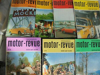 24270 7x Tschechoslowakische Motor Revue 73 / 5 7 9 10 12 74 / 1 8 Jawa Skoda Online Rabatt