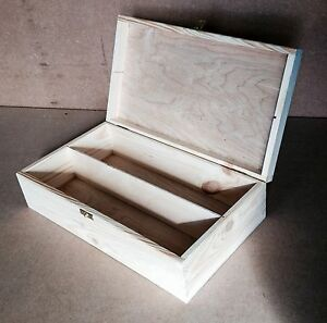 2-compartment-natural-pine-wood-storage-box-DD141-case-chest-display-parts-beads