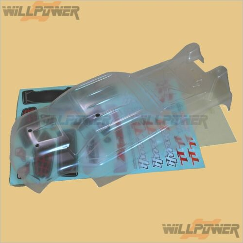 HOBAO TT10 Clear Body Shell Cover #11107 RC-WillPower
