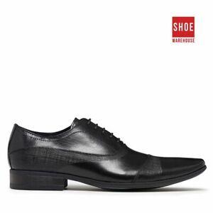 Julius Marlow BORRIS Black Mens Lace-up Fashion Leather Shoes