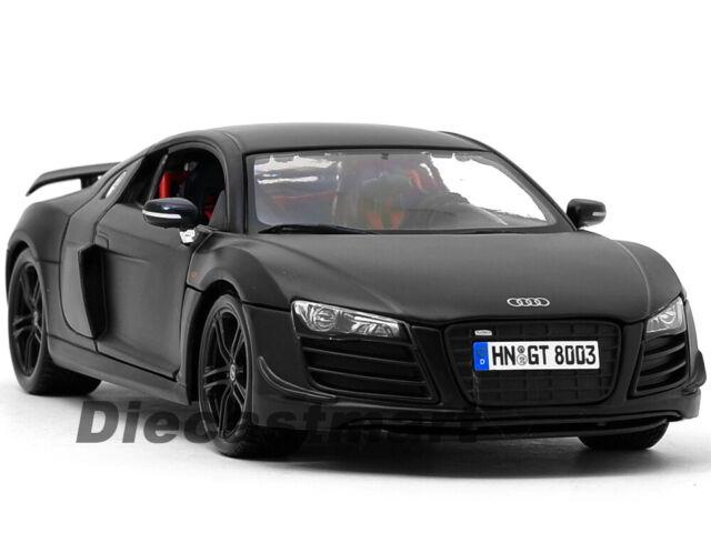 Maisto Audi R8 GT Matt Black 1//18 Car Model 36190