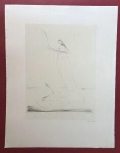 IRMEL Droese, il bambino ostinato, litografia, 1987, firmato a mano e dat.