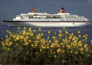 Schiffsfoto-AK-Schiff-MS-EUROPA-Karibik-Kreuzfahrt-Schiffspost-Paquebot-ab-MIAMI