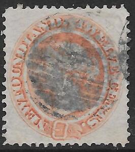 Newfoundland stamps 1865 SG 28 CANC VF