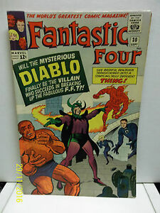 THE-FANTASTIC-FOUR-VOL-1-NUMBER-30-COMIC-BOOK-VERY-FINE-CONDITION