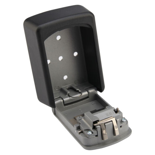 NEW 4 DIGIT OUTDOOR SAFE KEY BOX WALL MOUNTED SAFE KEY LOCK WATERPROOF SAFETY