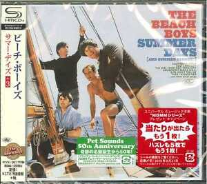 BEACH-BOYS-SUMMER-DAYS-3-JAPAN-SHM-CD-BONUS-TRACK-D50