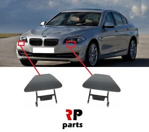BMW 1 SERIES M-PACKAGE 04-13 NEW FRONT HEADLIGHT WASHER COVER CAP PRIMED RIGHT