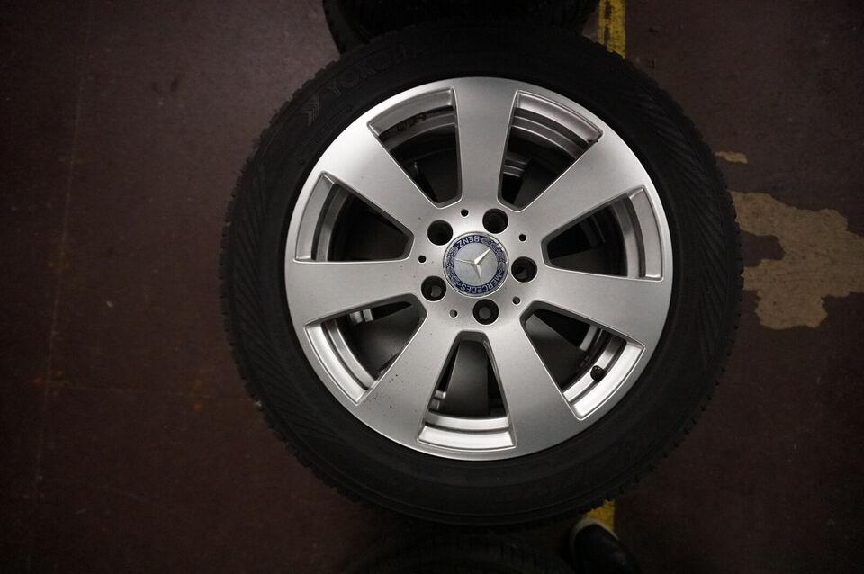 Mercedes C220 2012 16'' Alufælge med vinterdæk....