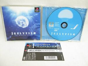 PS1-JELLY-FISH-with-SPINE-CARD-Playstation-Japan-Game-p1