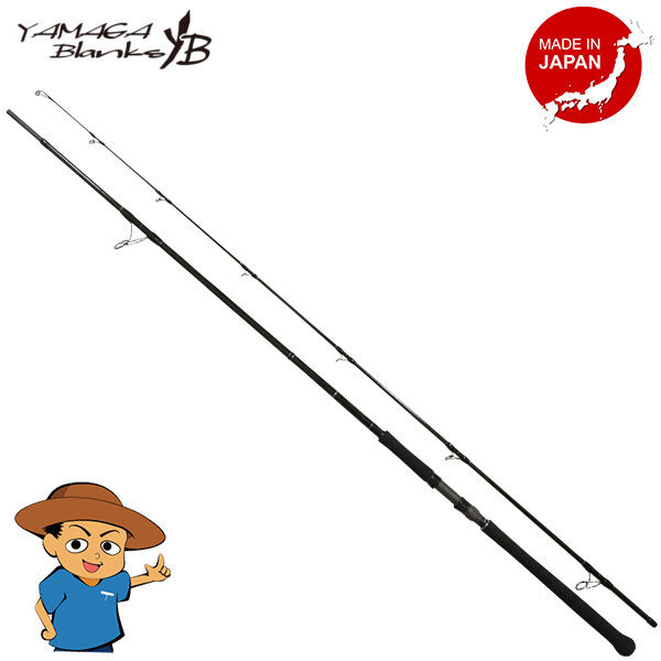 Yamaga Blanks BlauSNIPER 106H Heavy 10'6  shore casting spinning rod
