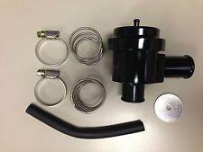 Black Aluminum Bypass Valve for Turbo Saab, Audi, Porsche, VW- Diverter Valve