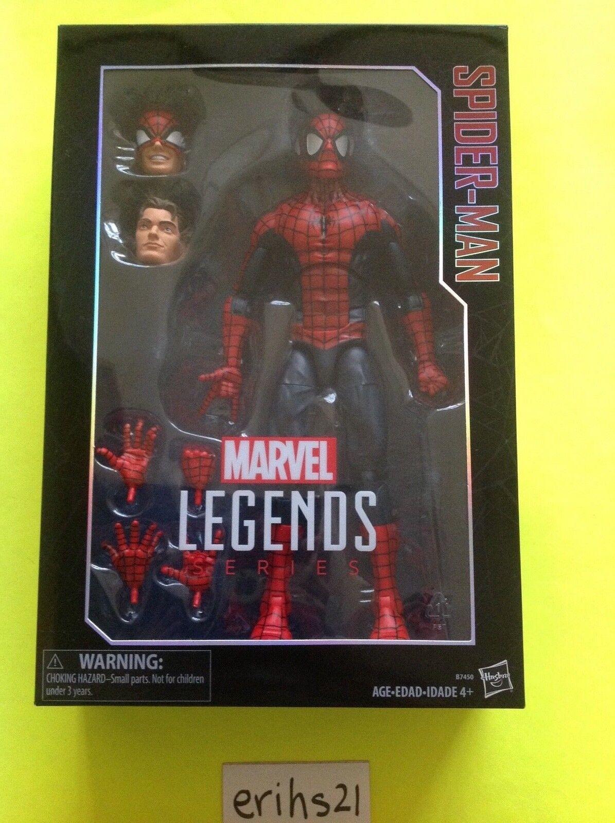 Marvel Legends Series 12  inch Spider-Man BRAND NEW BOX Spiderman Peter Parker