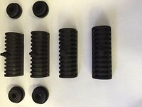 8 X Rubber Grommets Support Cushion Harley Davidson Road King Hard Saddle Bag