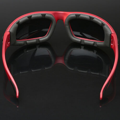 3 PAIR COMBO Red Choppers Wind Resistant Padded Motorcycle Riding Sunglasses