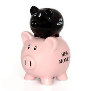 HIS-amp-HERS-Piggy-Bank-Coin-Jar-Money-Box-Cash-Coin-Bank-Novelty-Joke-Funny-Gift