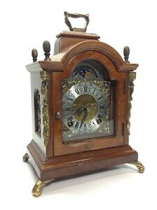 Vintage-Wuba-Moon-Phase-Bracket-Clock