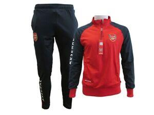 Tuta-ufficiale-Arsenal-F-C-completo-Maglia-e-pantaloni-originale-uomo-donna