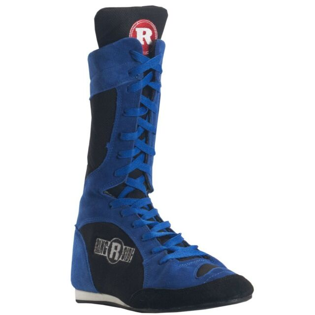 Ringside Hi-Top Boxing Shoes Training Sparring Boots Black Blue Red Best  Christmas gifts 2018 67899eff5