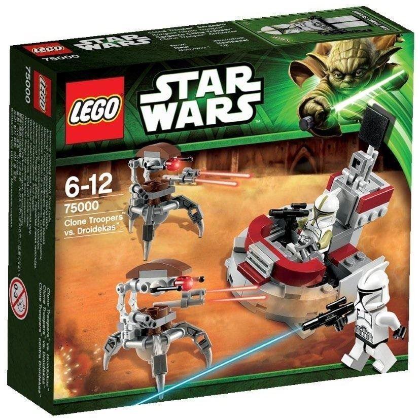 LEGO Star Wars 75000: Clone Troopers vs. Droidekas