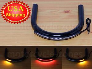 Cafe Racer Brat Style Seat Hoop Loop For Honda Kawasaki Suzuki Yamaha CC 210mm
