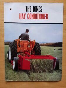 IndéPendant Jones Hay Revitalisant Sales Brochure-afficher Le Titre D'origine Brillant En Couleur