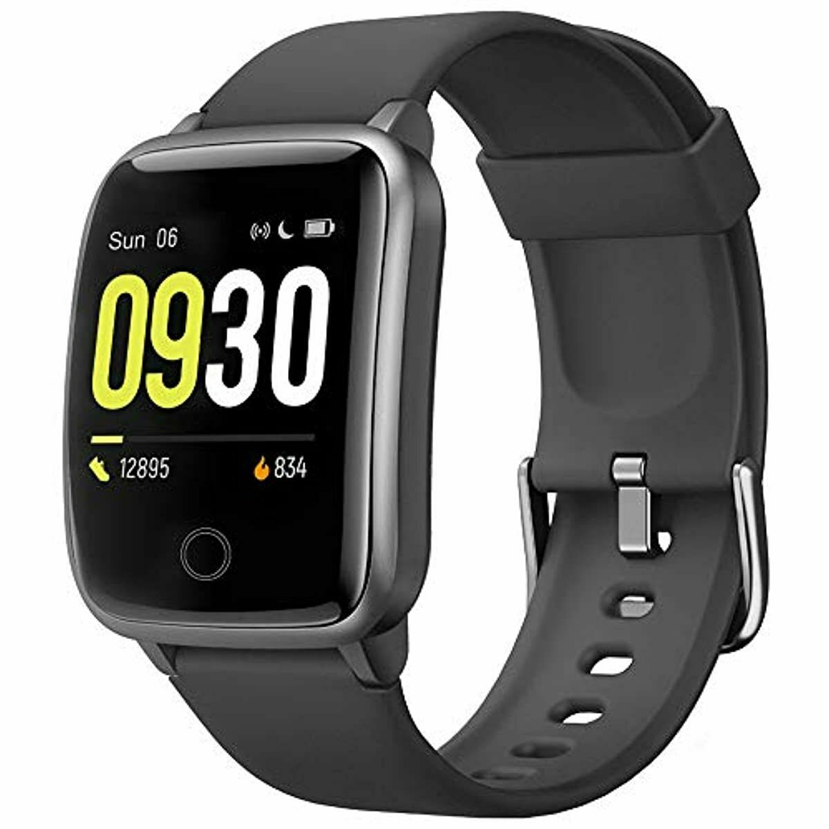 Smart Watch for Men Women IP68 Waterproof, Fitness Tracker Heart Rate Mo fitness for heart ip68 men rate smart tracker watch women