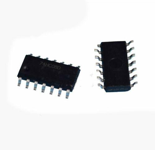 10PCS STMicroelectronics 74HC08D 14-Pin IC Quad 2-Input AND Logic Gate