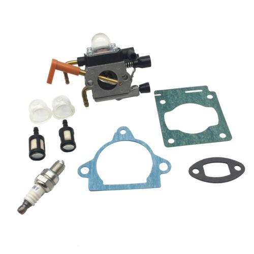 Replacement Carburetor Kit Fits for STIHL HS81 HS81R HS81T HS86 HS86R HS86T