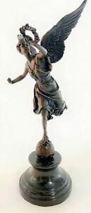 Winged-Victory-Athena-Nike-Paris-Louvre-Bronze-Marble-Statue-Sculpture-Figure