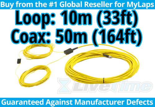 MyLaps 10m Loop w/ 50m Connection Box (AMB, rc cars, r/c cars) - NEW