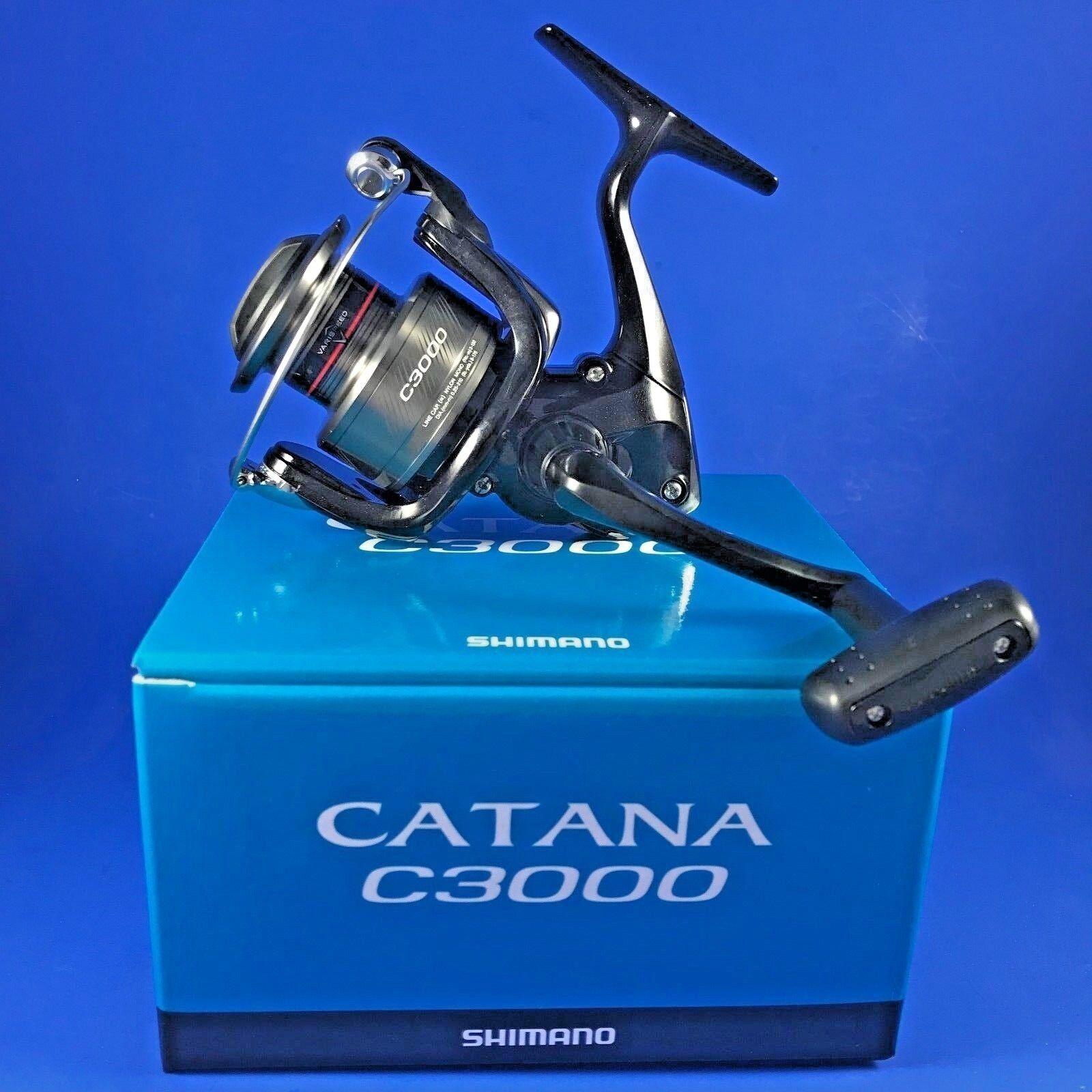 Shimano Catana C3000 FD CATC3000FD // CATC3000FD FD // Front Drag Fishing Reel a79f48