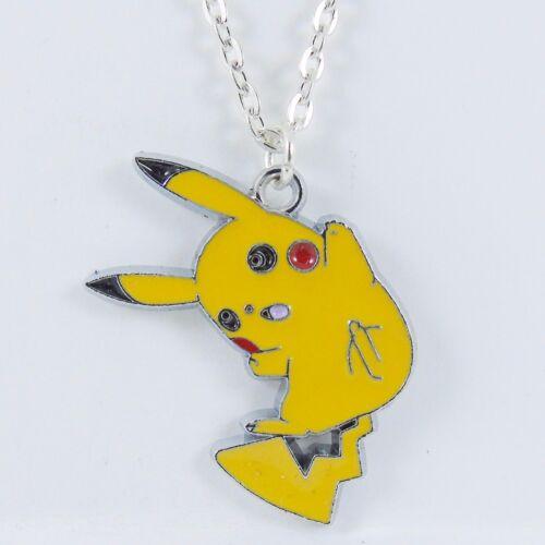 POKEMON CHARACTER NECKLACE pokeball BFF pikachu kawaii go eevee vaporeon raichu