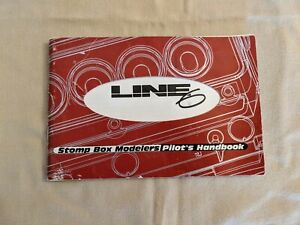 LINE-6-STOMP-BOX-MODELERS-PILOT-039-S-HANDBOOK-INSTRUCTION-MANUAL-FROM-2000