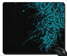 New Razer Speed Gaming Mouse Mat Pad Black &Blue Medium Size320*240*3mm (Locked)