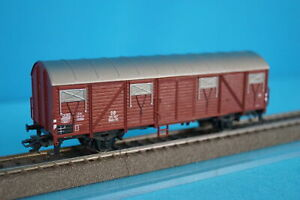 Marklin-4700-DB-Closed-Freight-car-Glmhs-50-Brown-201-367
